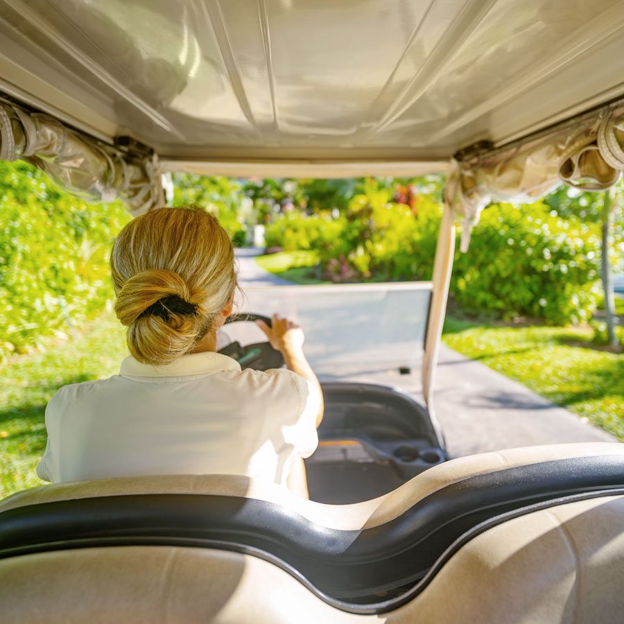 Good Life RV and Lifestyle Resort is Golf Buggy Friendly