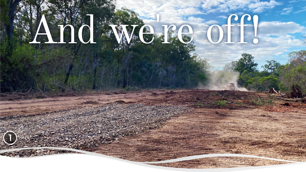 Land clearing commences at Good Life RV & Lifestyle Resorts, Howard
