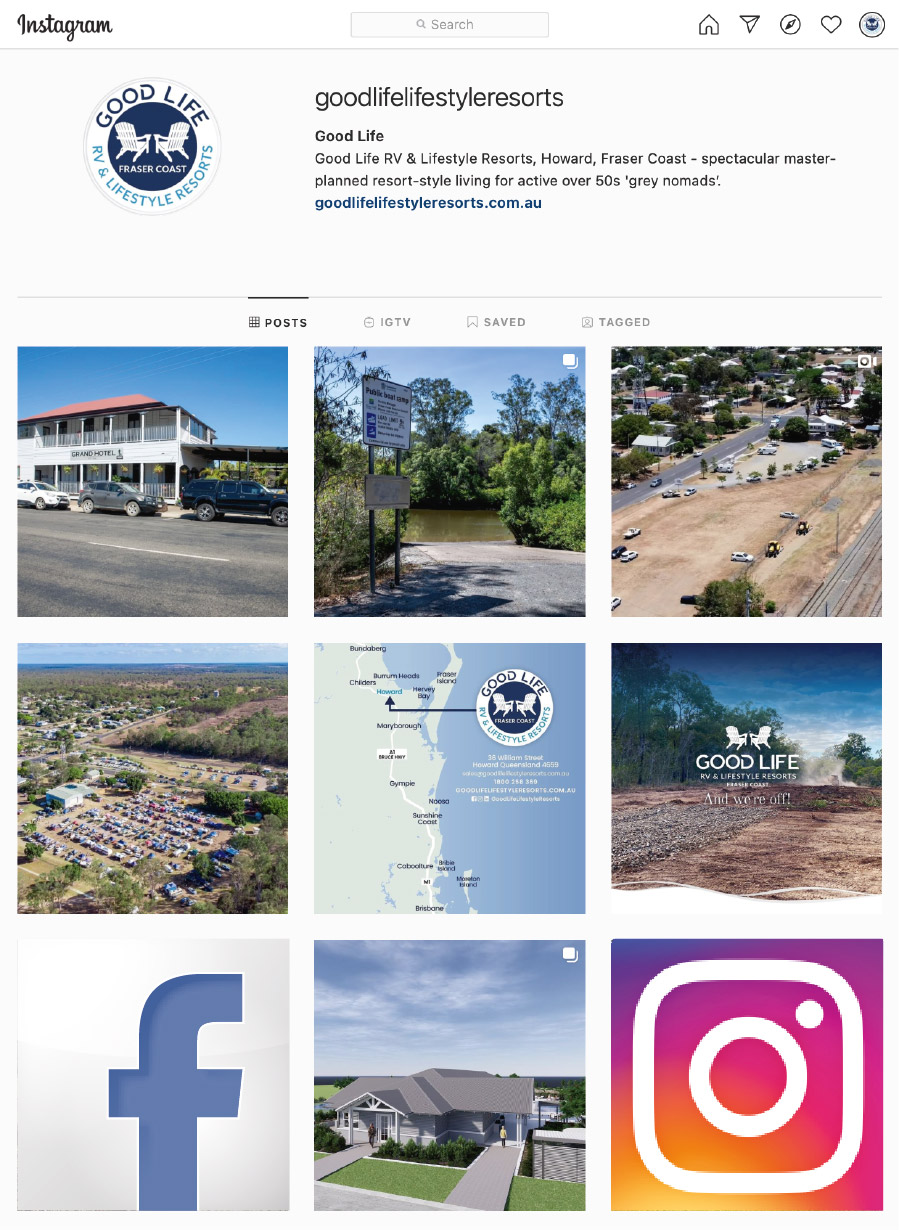 Good Life RV & Lifestyle Resorts on Instagram