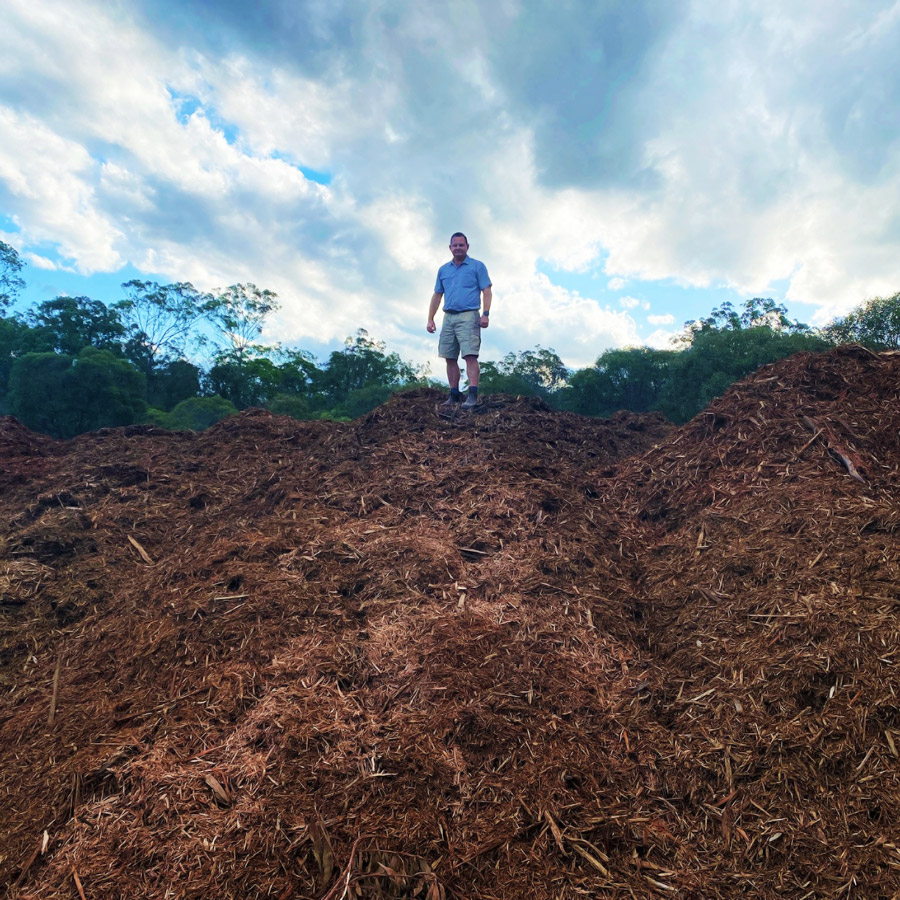 Mountains of Mulch